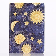 The Stars Of The Moon Pattern PU Leather Full Body Case with Stand  for iPad Mini 1/2/3