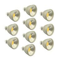 10 Stück Dimmbar LED-Glühlampen GU5.3 4.5 W 400-450 LM 2800-3000/4000-4500/6000-6500 K 1 COB Warmes Weiß / Kühles Weiß / Natürliches Weiß