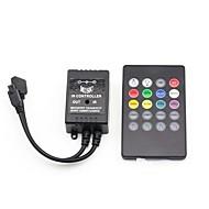 20 מקשים שלט רחוק IR מוסיקה לRGB LED רצועת אור (3x2a 12V)