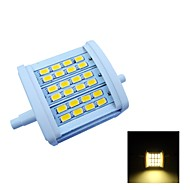 R7S 7 W 24 SMD 5630 770 LM Warm White Recessed Retrofit Decorative Flood Lights AC 85-265 V