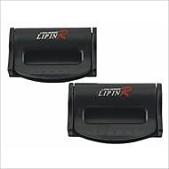 clipes de cinto de segurança do carro de plástico universal lp-2567 (2 peças)