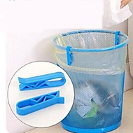 2 PCS Multi-function Garbage Bags Racks (Random Color)