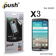 High Transparency Matte LCD Screen Protector for LG G3 (3 Pieces)