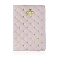 The Crown Diamond Pattern PU Leather Full Body Case for iPad mini 1/2/3(Assorted Colors)