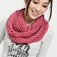 moda milho tricô das mulheres lenços quentes
