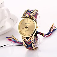 Women Big Circle Dial  National Hand Knitting Brand Luxury Lady Watch C&D-272