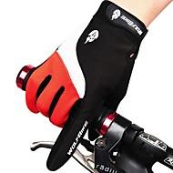 West biking Sporthandschuhe Herrn Unisex Fahrradhandschuhe Herbst Winter Fahrradhandschuhewarm halten Wasserdicht Windundurchlässig