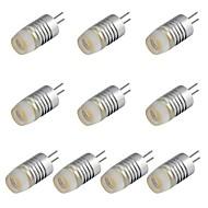 G4 1.5W 높은 전원 120lm의 6000K 흰색 가로 양방향 핀 LED 조명 램프 직류 12V (10 개)