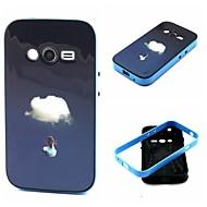 Mert Samsung Galaxy Note Ütésálló / Minta Case Hátlap Case Látvány TPU Samsung Ace 4