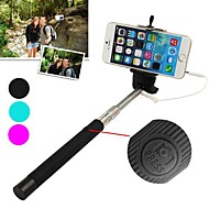 DF Cable Take Pole Extendable Selfie Handheld Monopod Stick Holder for iPhone 5/5S/6 (Assorted Colors)