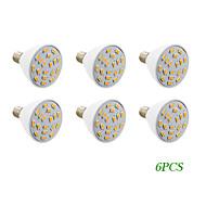 6 pcs E14 4 W 18 SMD 5730 280 LM Warm White / Cool White Spot Lights AC 220-240 / AC 110-130 V