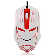 Beitas IronMan BM003  USB Wired  Gaming Mouse  With Colorful LED Light Luminous