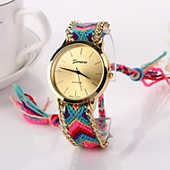 vrouwen grote cirkel dial nationale hand breien merk luxe dame horloge c&d-278