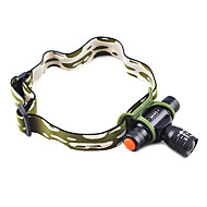 Headlamps 3 Mode 160 Lumens Adjustable Focus / Waterproof 14500 / AA Camping/Hiking/Caving / Cycling / Hunting / Fishing / Climbing -