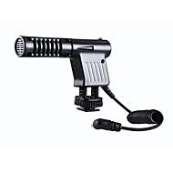 atacado frete grátis por-vm01 microfone condensador para gravação de câmeras de vídeo DV da câmara DSLR