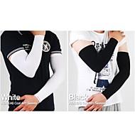 manicotti del braccio wolfbike sole uv protezione pelli protezione ciclismo nero bianco