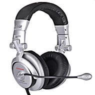 Cosonic CD-890 Headphone Wired 3.5mm Over Ear Gaming Volume Control Foldable with Microphone For PC