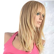 Capless Straight Long Blonde Fashional Synthetic Wig
