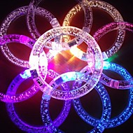 RGB οδήγησε αναβοσβήνει βραχιόλι ακρυλικό σχεδιασμό κόμμα οδήγησε φως ραβδί (τυχαία το χρώμα x1pcs)