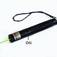 Hunterseyes™ Pen Shape Astronomy S303-5-0-1 Green Laser Pen Flashlight with  Black