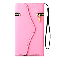 Pirate Wallet PU Leather Full Body Case with Stand for iPhone 6 Plus(Assorted Colors)