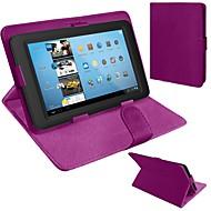 rabat universelle pu cas de la tablette en cuir avec support pour 10 pouces (couleurs assorties)