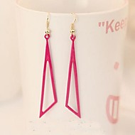 Triangular Geometry Hollow-Out Earrings
