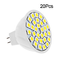 GU5.3 5 W 30 SMD 5050 420 LM Warm White/Cool White Spot Lights DC 12 V
