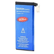 batteria di ricambio - IP4GB - 3030 - Apple - iPhone 4 - con caricabatterie