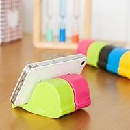 velryba tvaru univerzální plastový stojan pro Samsung iPhone mobil (náhodné barvy)