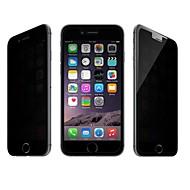 beboncool protetor de tela anti-reflexo anti-spy vidro temperado com pano de limpeza para o iPhone 6