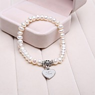 Personalized Gift Cultured Pearls Bracelet