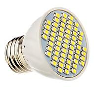 Faretti 60 SMD 3528 E26/E27 3.5 W Decorativo 360 LM white(5000-6500k) / warm white(2800-3500K) K Bianco caldo/Luce freddaDC 12/AC 12/AC