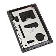 multi-funzione della carta di alluminio di sopravvivenza all'aperto e strumento