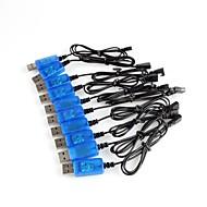 usb kabel pengecas mainan untuk kabel data quadcopter syma rc usb pengecas dengan perlindungan papan litar 10 keping / pek