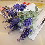 Tak Zijde Kunststof Lichtblauw Bloemen voor op tafel Kunstbloemen