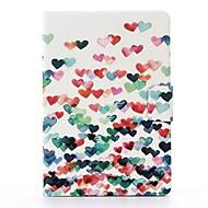 lidt kærlighed mønster pu læder hele kroppen tilfældet med stativ til iPad mini 1/2/3