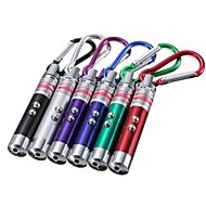 Lights Key Chain Flashlights LED Lumens Mode - LR44 Emergency / Small Size / Pocket / Ultraviolet LightCamping/Hiking/Caving / Everyday