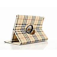 High Quality Grid Pattern PU Leather Stand Case for iPad Air 2 (Assorted Colors)