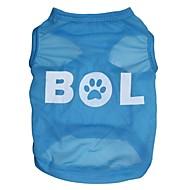 """Lovely """"BOL"""" Pattern Terylene Vest for Dogs (Assorted Sizes)"""