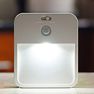 qiangan® emxt 0.5W 6500K kaltweiß kreative menschliche Körper Induktionslampe