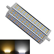 R7S 15 W 72 SMD 5730 1450-1500 LM Warm White / Cool White T Dimmable Corn Bulbs AC 85-265 V