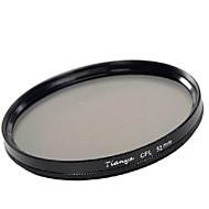 tianya® 52mm cpl cirkulär polarisator filter för Nikon d5200 D3100 D5100 D3200 18-55mm objektiv