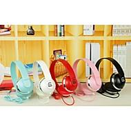 y503 stil över örat hopfällbar bas hörlurar för telefoner (diverse färg)