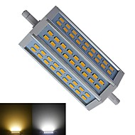 R7S 12 W 54 SMD 5730 1100-1150 LM Warm White/Cool White Recessed Retrofit Dimmable Corn Bulbs AC 85-265 V