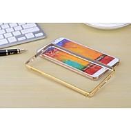 Na Samsung Galaxy Note Other Kılıf Bumper Kılıf Jeden kolor Metal Samsung Note 3