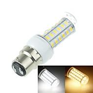 B22 11W 56x5630SMD 2800LM 3500K 6000K Warm White/Cool White Decorative Corn Bulbs  AC220-240V