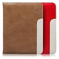 Couvertures intelligents/Cas Folio ( Vrai cuir , Rouge/Noir/Marron/Rose ) - Couleur unie/Sports et plein air pour PommeiPad mini/mini-iPad 2/mini