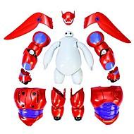 grande eroe giocattolo action figure baymax anime modello 6 armatura-up
