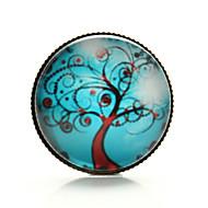 vilam® árvore vida árvore da paz ramo ventoso tempo cabochão broche gem